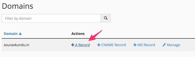 ajout d'un enregistrement en DNS 1/2