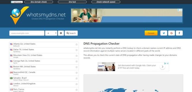 Propagation DNS