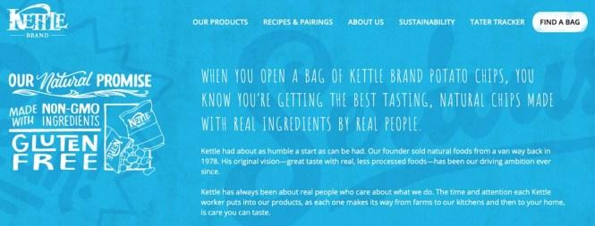 Kettle Brand À propos de nous