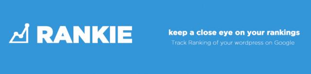 The Rankie homepage header
