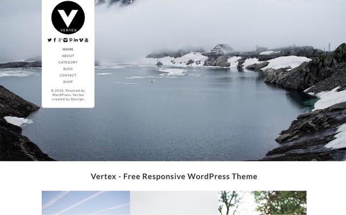 Vertex Simple Blog Tema WordPress Gratis