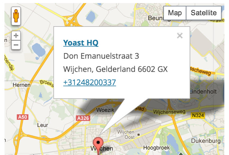 Yoast Local