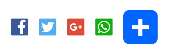 Boutons de partage AddtoAny: meilleurs plugins de médias sociaux pour WordPress