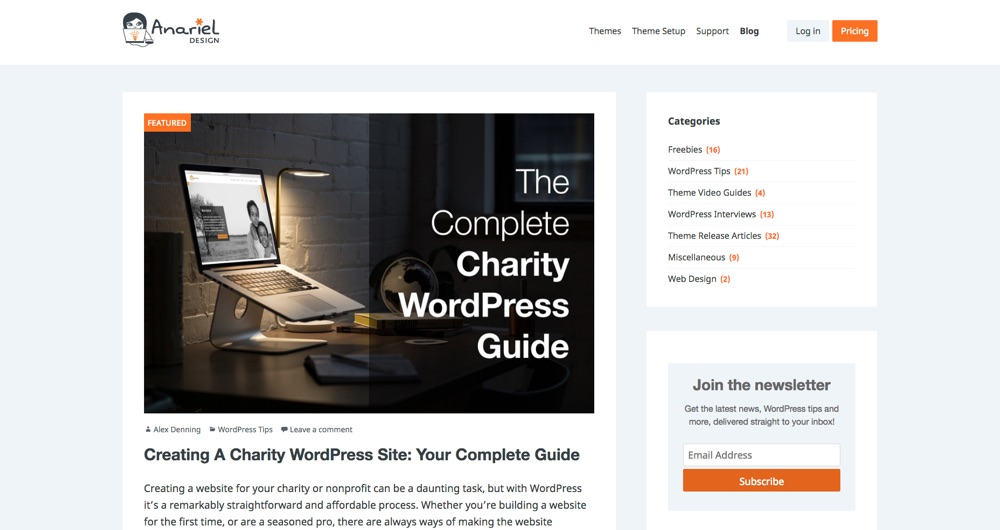 WordPress Blogs You Should Follow - Anariel Design