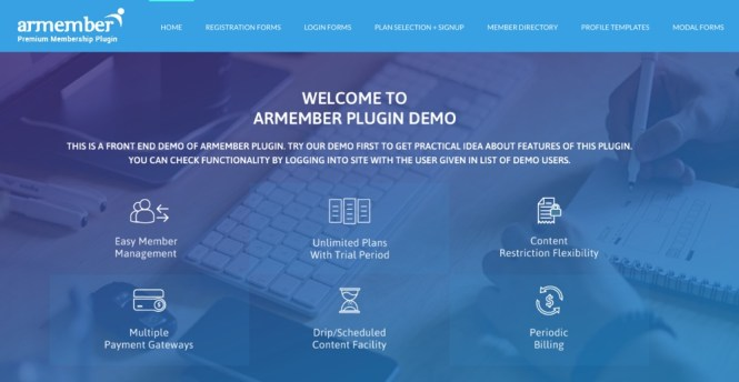 Plugin d'adhésion WordPress ARMember