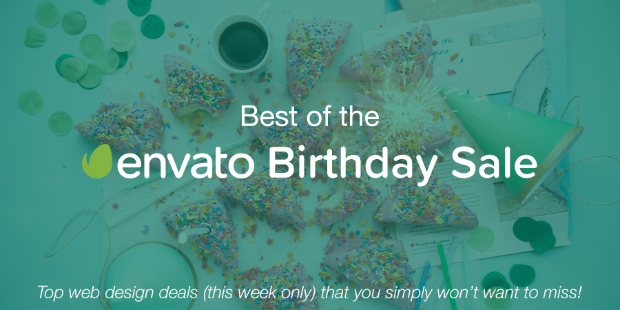 The Best WordPress Deals of the Envato Birthday Sale
