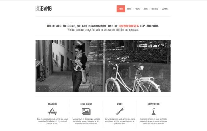 Thème WordPress BigBang