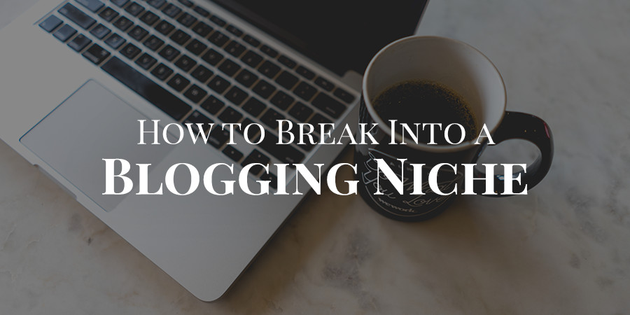 How to Break Into a Saturated Blogging Niche
