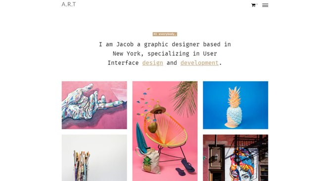 Artis WordPress Thème