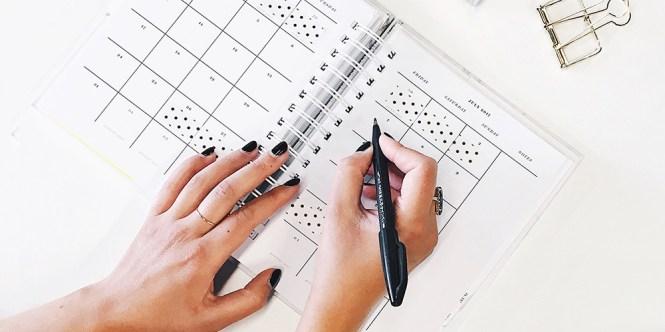 Planification du calendrier