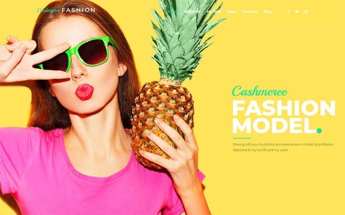 Cashmeree Fashion Tema de WordPress