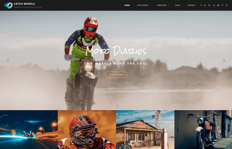 Catch Wheels Free WordPress Theme