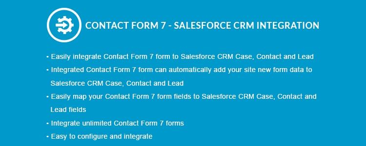 Контактная форма 7 - Интеграция Premium Salesforce CRM