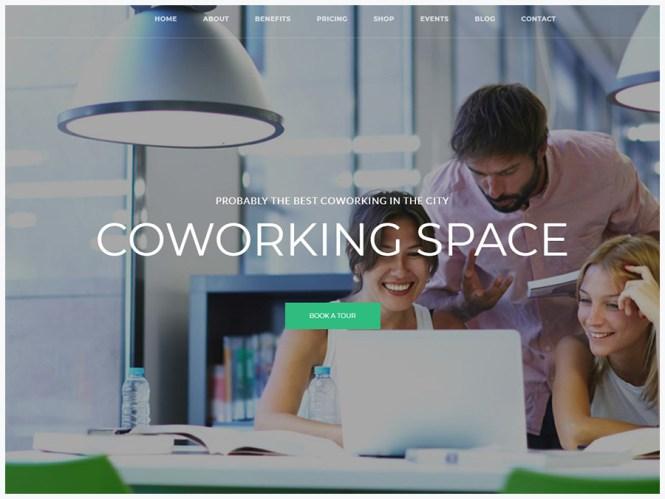 Coworking Co. - Thème WordPress pour les espaces créatifs