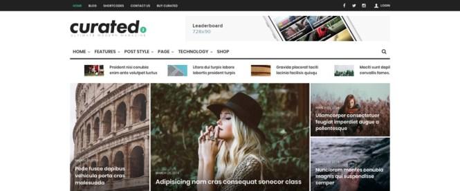 Thème WordPress pour magazine Ultimate Modern