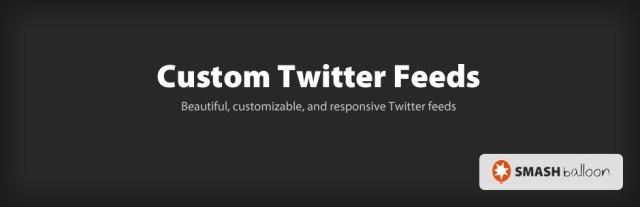 Custom Twitter Feeds Plugin