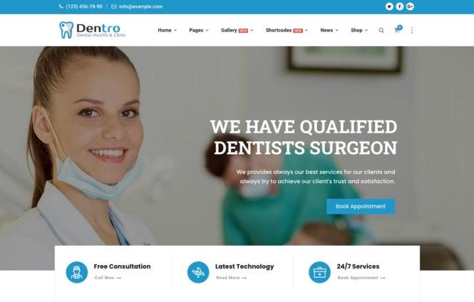 Thème de dentiste dentaire