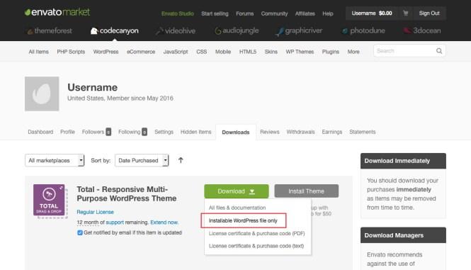 Téléchargez le thème WordPress