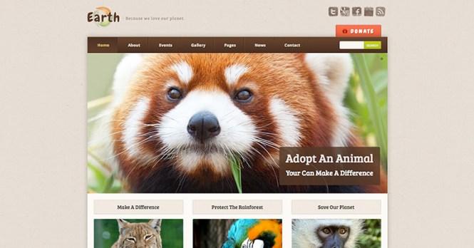 Earth Eco Environmental Thème WordPress