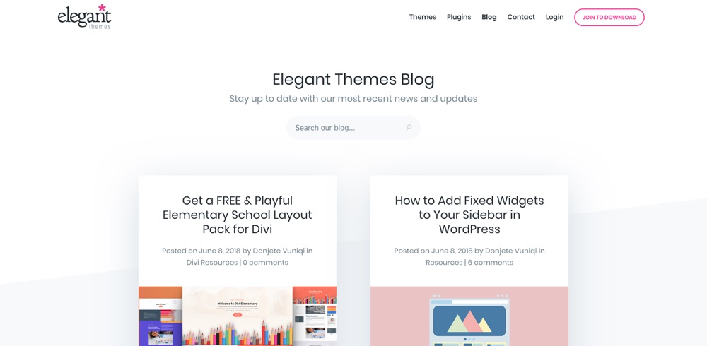 WordPress Blogs You Should Follow - Elegant Themes