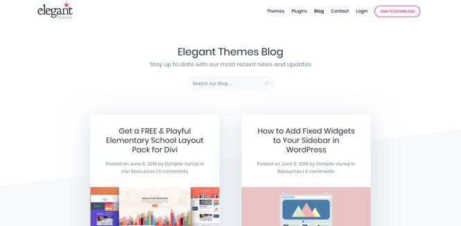 Blogs WordPress à suivre - Thèmes élégants