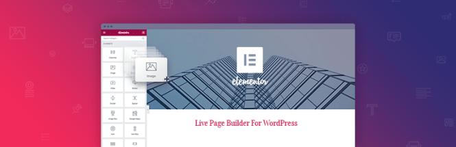 Plugin Elementor Page Builder