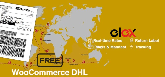 Livraison EHL WooCommerce DHL Express