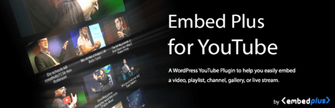 embed plus pour le plugin wordpress de streaming en direct sur youtube