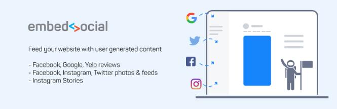 EmbedSocial - Plateforme d'outils de médias sociaux