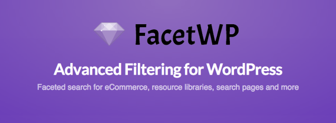 FacetWP Filtrage avancé pour WordPress