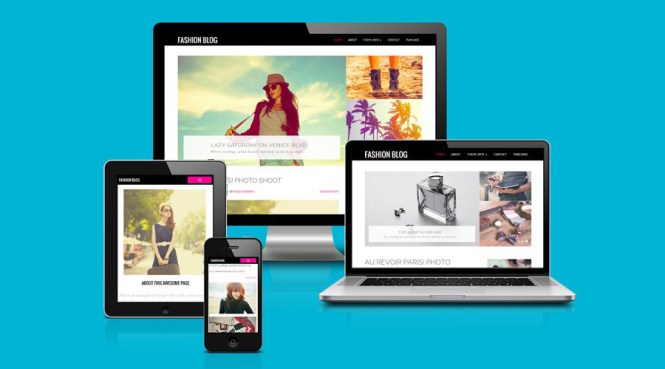 Thème WordPress Fashion & Blog