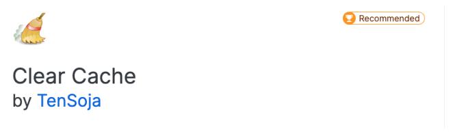 Module complémentaire Firefox - Vider le cache