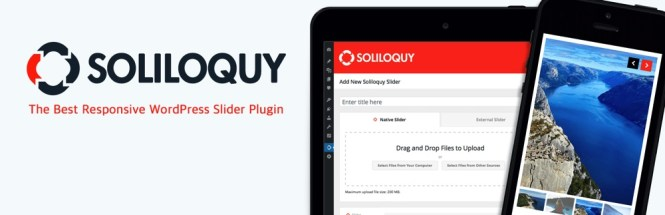 Curseur WordPress gratuit Soliloquy