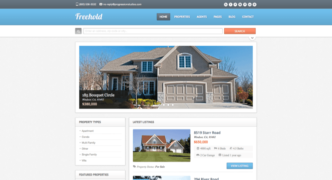 freehold-real-estate-wordpress-theme
