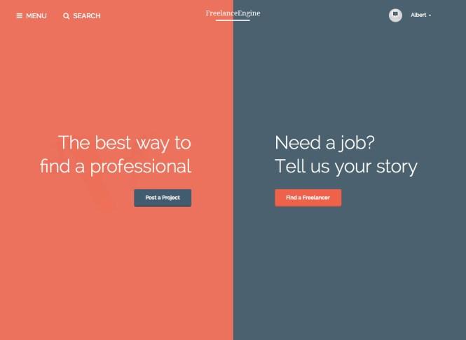 Thème WordPress FreelanceEngine Business