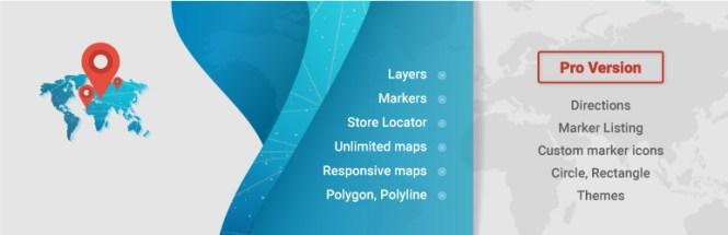 Meilleurs plugins de cartographie: Google Maps WD Free Plugin