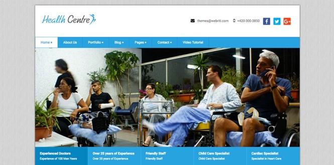 Thème WordPress du centre de santé