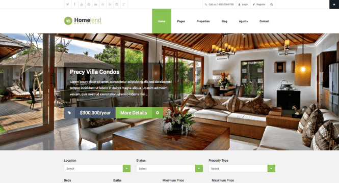 patrie-immobilier-wordpress-theme