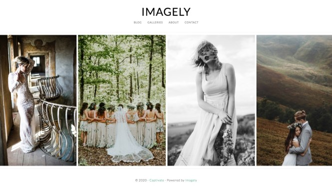 Imagely pour les photographes