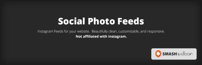 Flux photo social Smash Balloon