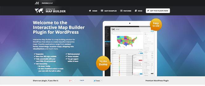 Meilleurs plug-ins de cartographie: Plugin de générateur de carte interactif