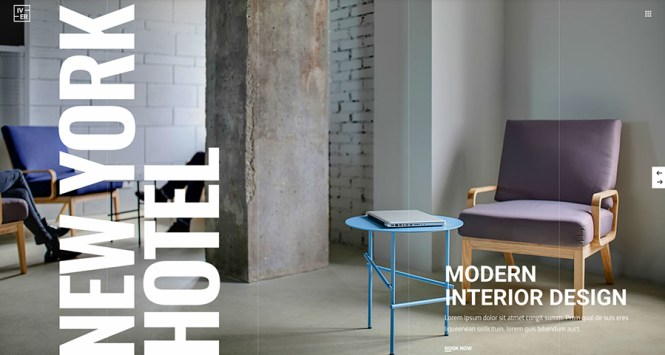 Iver Modern Hotel and Booking Theme