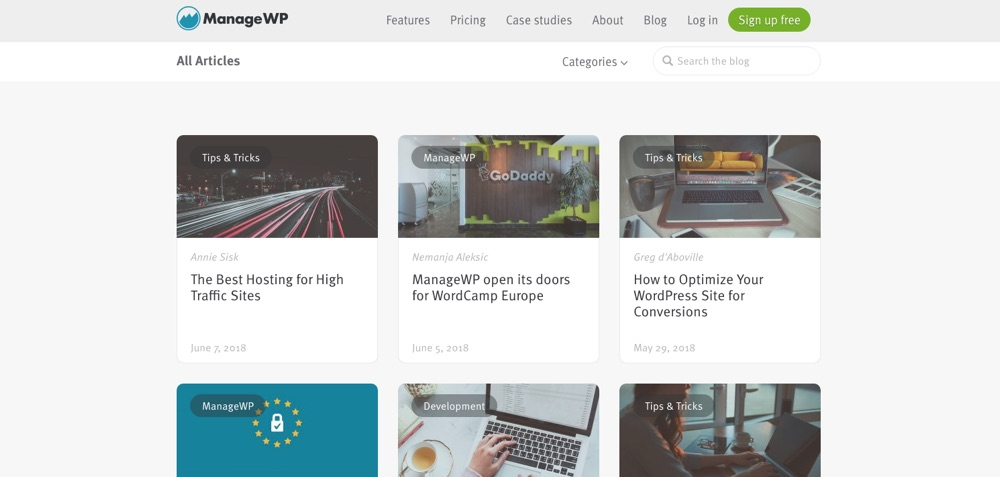 WordPress Blogs You Should Follow - ManageWP