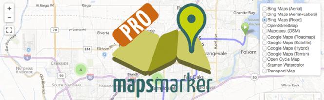 Meilleurs plugins de cartographie: MapsMarker Pro