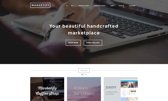 Marketify Digital Marketplace Thème WordPress