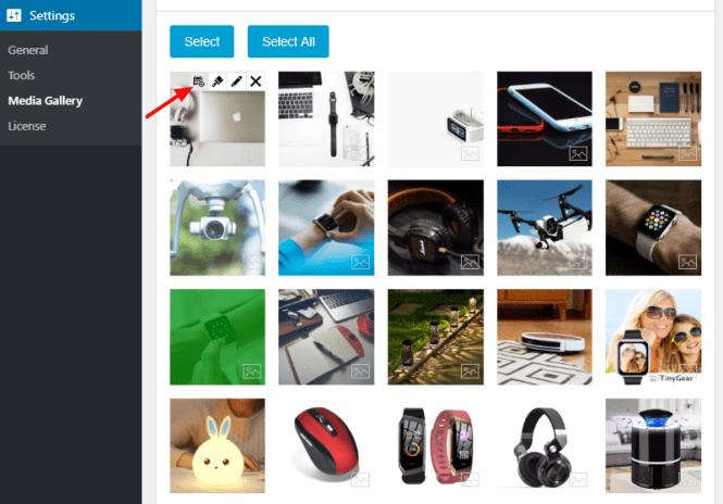 planificateur d'images de lapin social