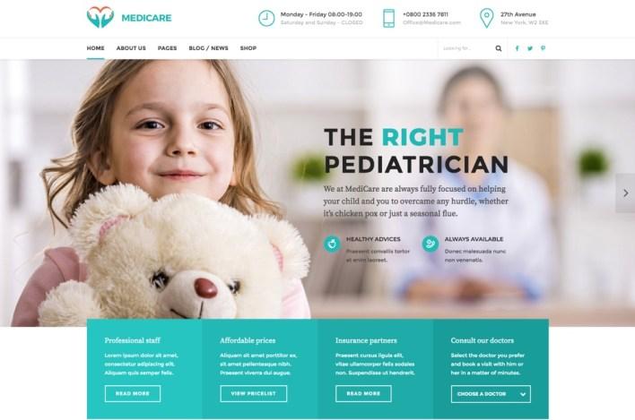 Medicare - tema médico, médico y de salud