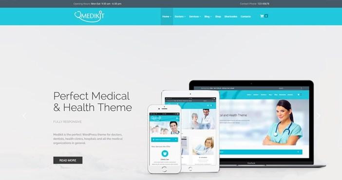 Medikit - Salud y Medicina WordPress