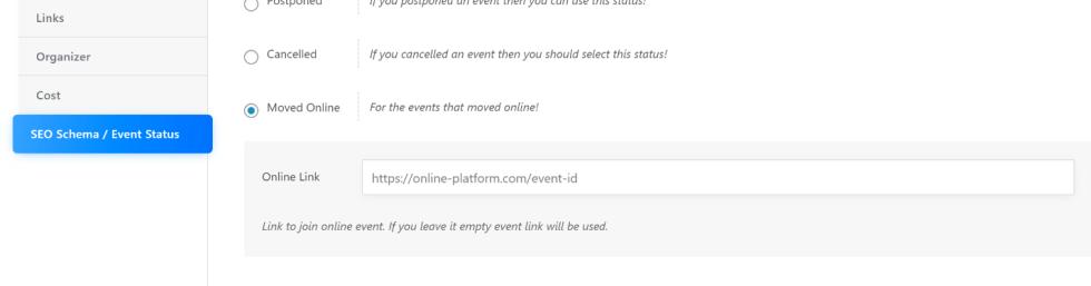 Modern Event Calendar