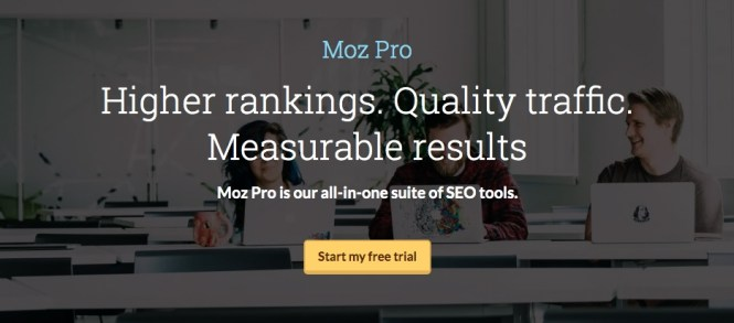 Outils Moz Pro SEO